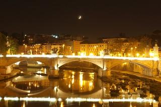 Moonlight over the Tiber (c) Rehoboth Imagery 2011