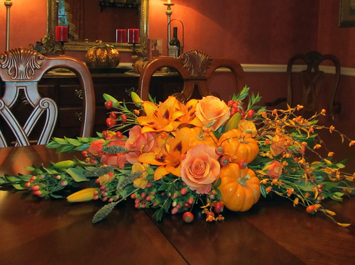 Thanksgiving Centerpiece — Farrell's Florist in Drexel Hill, PA