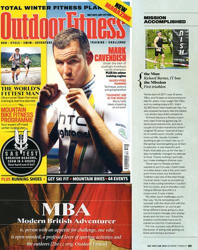 Outdoor Fitness Magazine Nov 2011