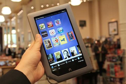 Barnes & Nobles Nook Tablet
