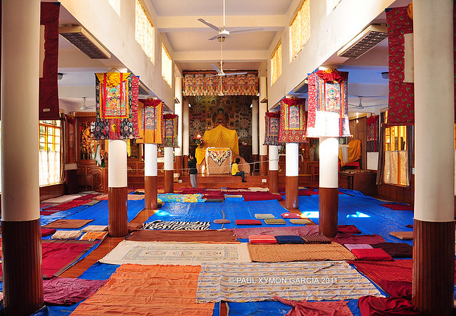 Tsuglagkhang Monastery, McLeod Ganj, Dharamsala, India