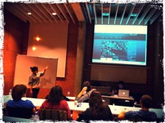 Clase y pitch de DocuWeb