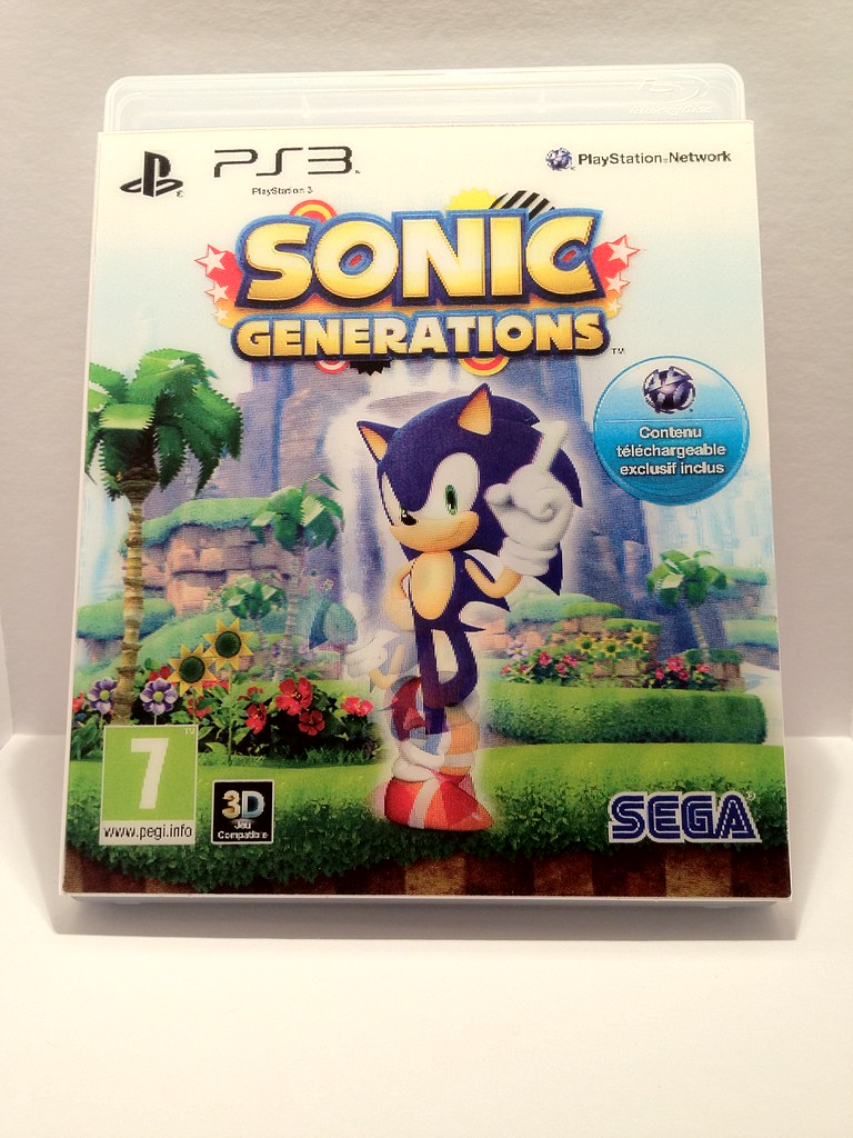 Sonic Generations Collector PS3 | Brice675 | Flickr