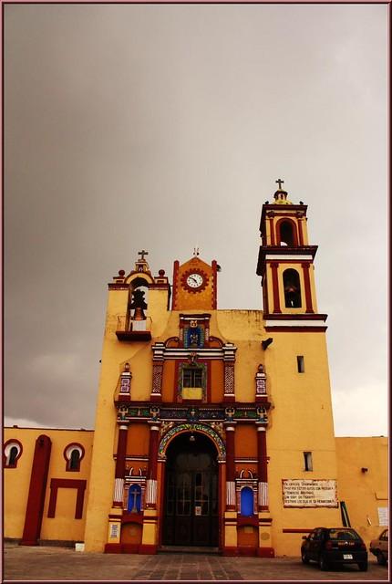 """Parroquia de San Jeronimo""""Caleras""""Puebla de los Ángeles ..."""