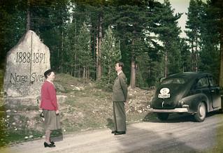 Swedish-Norwegian border, Älvdalen, Dalarna, Sweden