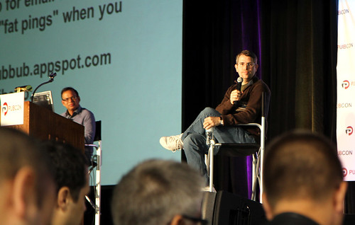 Matt Cutts Answering Questions at Pubcon