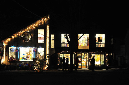 Xmas in Bayfield -  Main Street 2