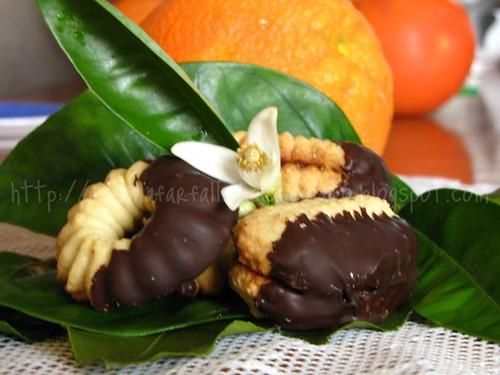 Dessert con marmellata di arance amare 3