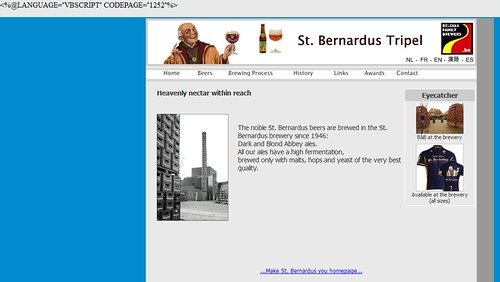 St. Bernadus Website