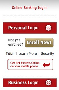 BPI Online Baking Login