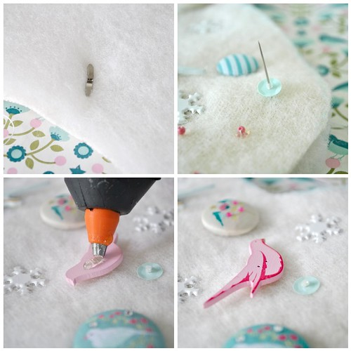 Embellished stocking steps 5-8