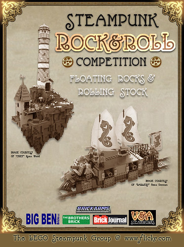 LEGO Steampunk Rock and Roll Competition!