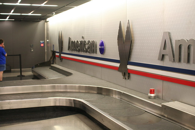American Airlines Baggage Claim At Chicago O Hare Airport