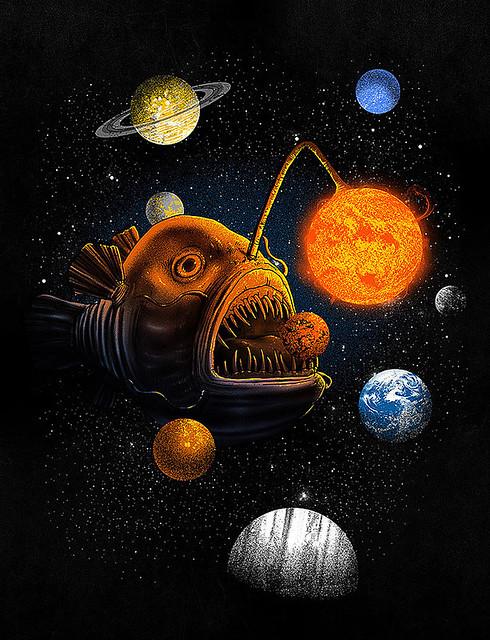 Cosmic Angler
