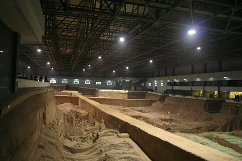2011-11-17 - Xian - Terracotta warriors - 13 - Excavation hall 3