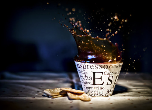 coffee splash . wow !!!