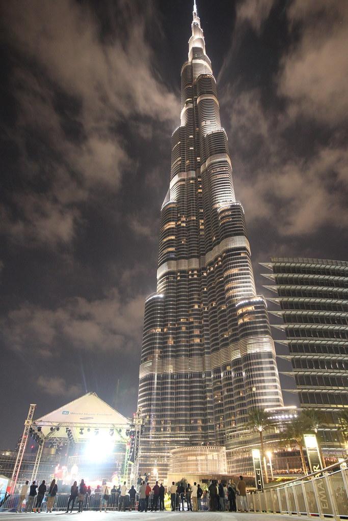 Burj Khalifa: Concert View