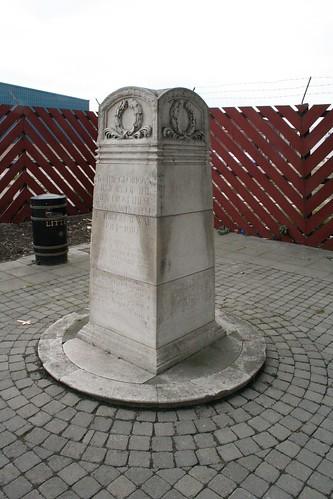 Silvertown Explosion Memorial