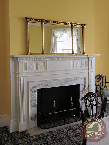The Grange Dining Rm Fireplace