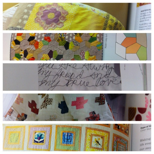 Getting inspired on my lunch break at Jo Ann's... Now I just wanna go home + quilt :) wow! #quilt