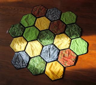 Settlers of Catan tiles