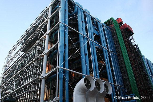 Centro Georges Pompidou. © Paco Bellido, 2006