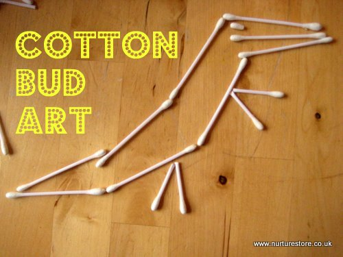 cotton bud art