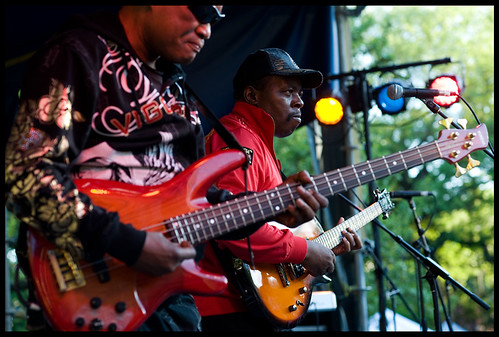 Diblo Dibala at Congo Square Music Festival. by Ryan Hodgson-Rigsbee