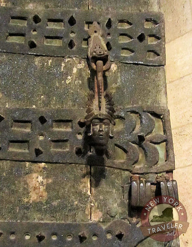 Iron and Wood Door
