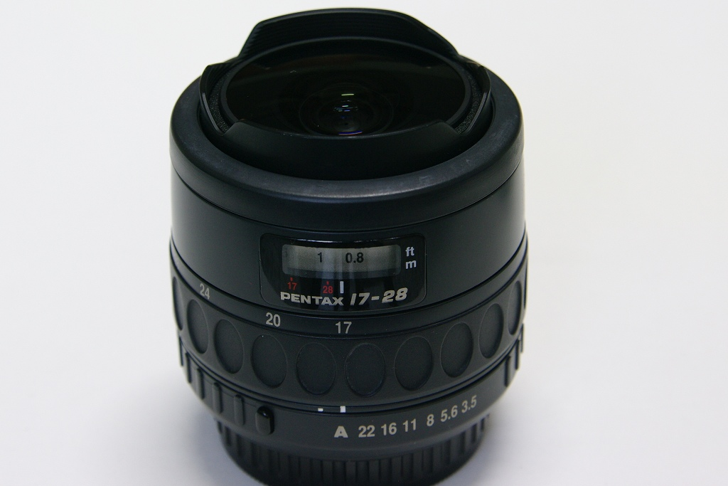SMC PENTAX-F FISH-EYE 1:3.5-4.5 17-28mm