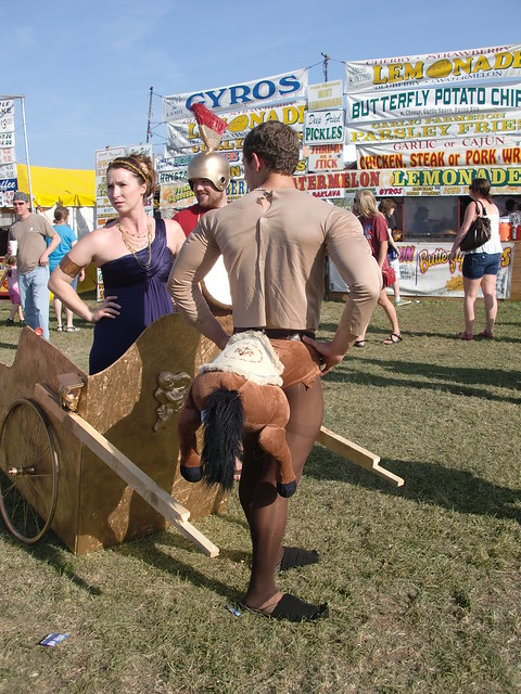 Medieval Fair Sighting...