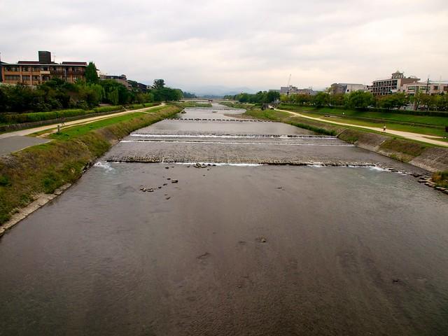 Kamo River (Kamogawa/鸭川)