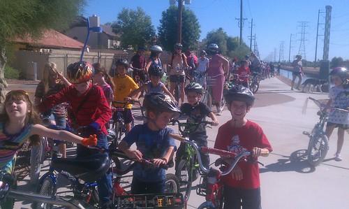Bethany family bike ride