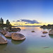 Sand Harbor Sunrise - Panorama