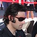 Oct 15/Fan Zone, Dan Wheldon/Dario F./Will P. [ '11 Indycar LVMS/Sat ]