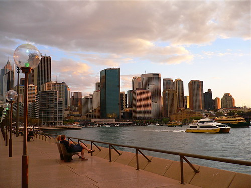 Circular Quay at Sunset
