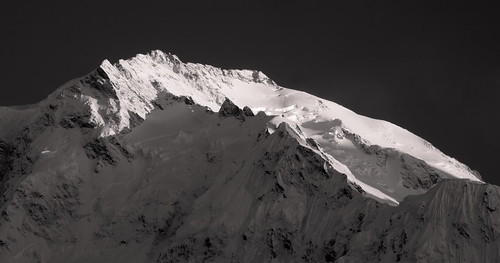 Nanga Parbat: Playful shadows