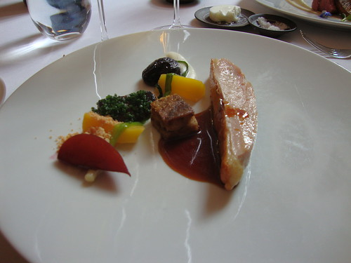 , there was foie gras with the main course guinea fowl: Guinies Fowl ...
