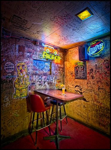 arizona beer architecture bar vintage graffiti tucson interior historic tavern nik blend thebuffet bugeyedg