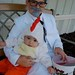 The Colonel and his Chicken