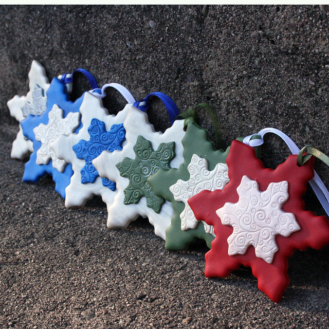 Polymer clay christmas ornaments flickr photo sharing