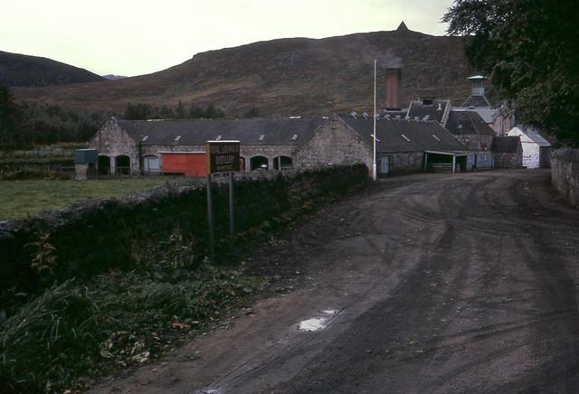 Royal Lochnagar Distillery Ballater Aberdeenshire AB35 5TB, Scotland Sep 1966