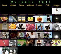 """Oct 31 2011 [Day 365] Bonus """"October 2011"""""""