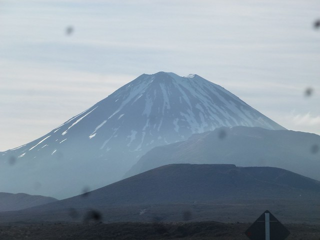 Mt doom from Lord of the rings, something we planned to scale on the Tongariro Crossing
