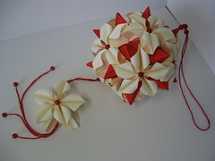 Lucky Spike ' Poinsettia Paper Origami 135 Photos 360
