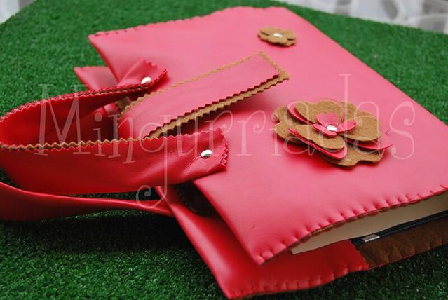 Funda-Libros Rojo
