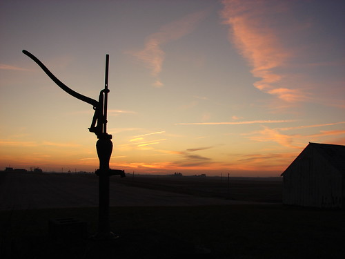 county old abandoned water barn rural america sunrise clinton iowa pump mornings countless