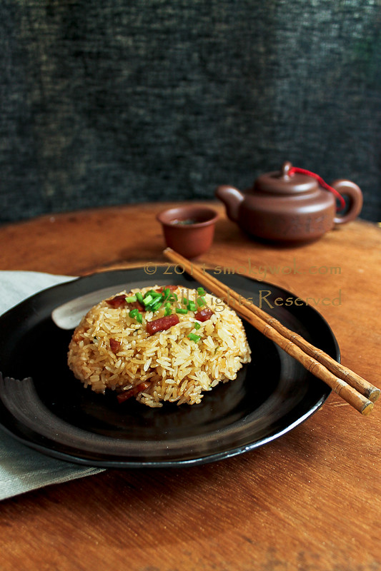 Chinese Steamed Glutinous Rice 蒸糯米饭