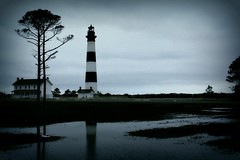 Bodie Island Reflection