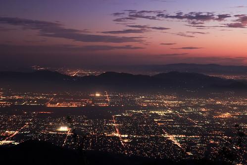 city longexposure night canon landscape outdoors lights view scenic nationalforest nighttime 5d southerncalifornia markii inlandempire sanbernardinomountains transverserange